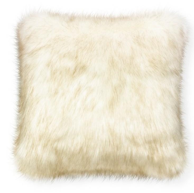 """""""Faux fur cushion"""""""